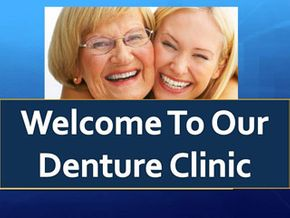 Wright Denture Clinic slide show - cell 1